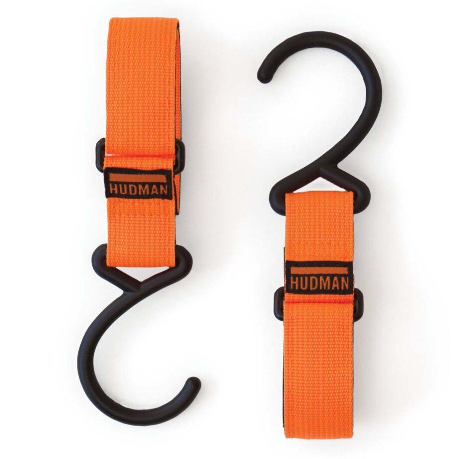 "Hudman Strap & Hook 10"" bright orange"